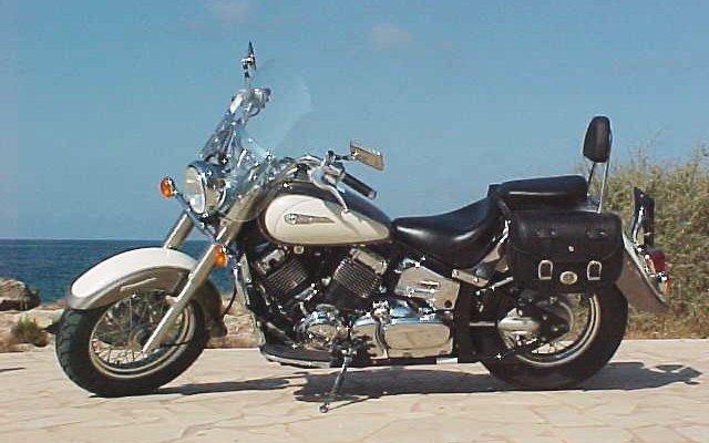 majorca motorcycle rent a yamaha classic dragstar 650. Black Bedroom Furniture Sets. Home Design Ideas